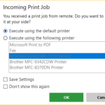 Remote Print in AnyDesk